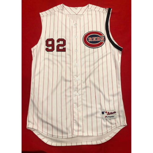 Nate Irving -- 1961 Throwback Jersey & Pants -- Cardinals vs. Reds on July 21, 2019 -- Jersey Size 46 / Pants Size: 36-41-20