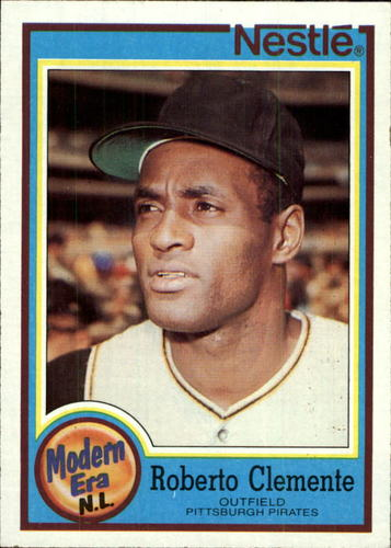 Photo of 1987 Nestle Dream Team #27 Roberto Clemente