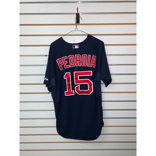 Photo of Dustin Pedroia Team Issued Road Alternate Jersey