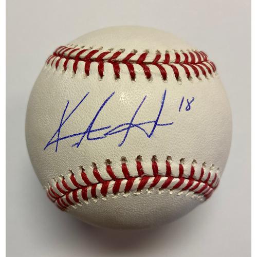 Photo of Keston Hiura Autographed Authentic Baseball