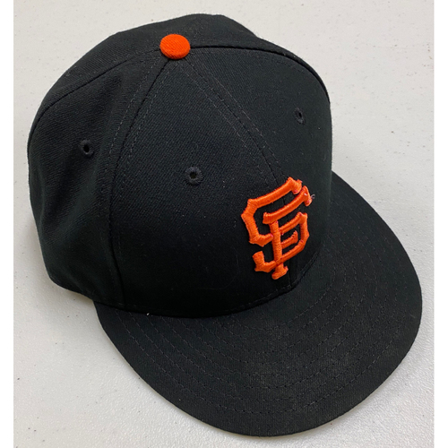 Photo of 2019 Team issued Regular Season Black Cap - #62 Ray Black - Size 7 1/4