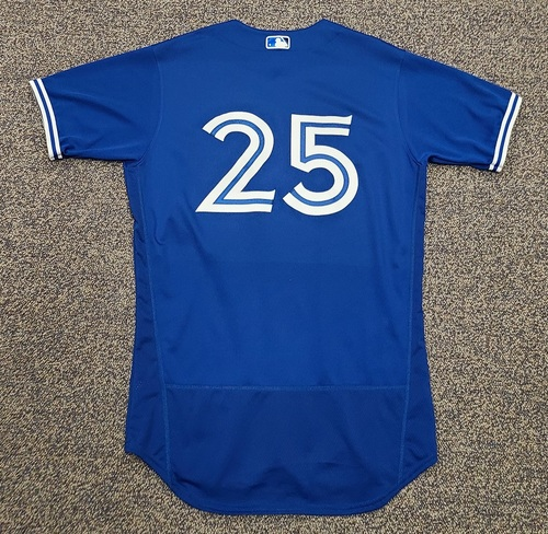 Photo of Authenticated Team Issued 2020 Spring Training Jersey: #25 Charlie Montoyo. Size 44