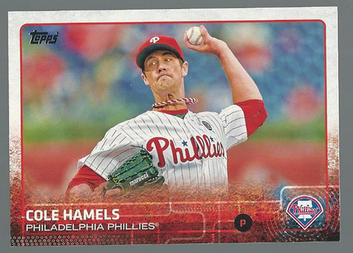 Photo of 2015 Topps #10 Cole Hamels