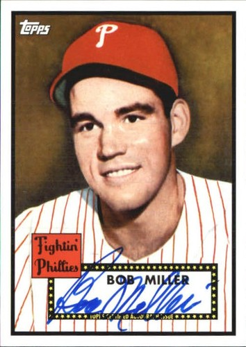 Photo of 2011 Topps Lineage Autographs #BMI Bob Miller