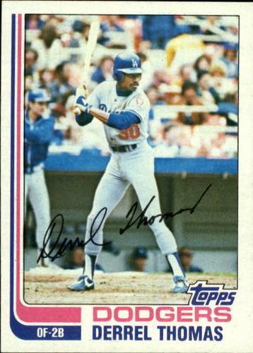 Photo of 1982 Topps #348 Derrel Thomas