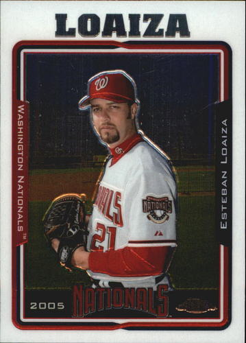 Photo of 2005 Topps Chrome #355 Esteban Loaiza