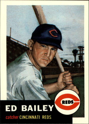 Photo of 1991 Topps Archives 1953 #206 Ed Bailey