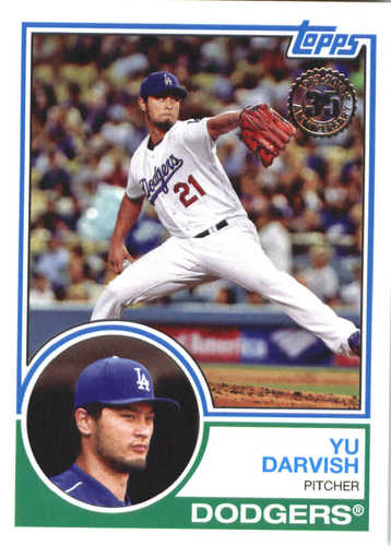 Photo of 2018 Topps '83 Topps #8325 Yu Darvish