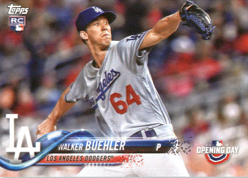 Photo of 2018 Topps Opening Day #132 Walker Buehler
