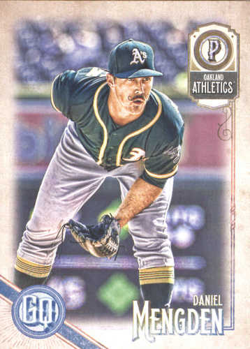 Photo of 2018 Topps Gypsy Queen #293 Daniel Mengden RC