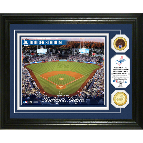 Photo of Serial #1! Los Angeles Dodgers Dirt Coin Photo Mint