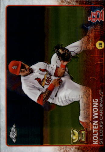 Photo of 2015 Topps Chrome #50 Kolten Wong