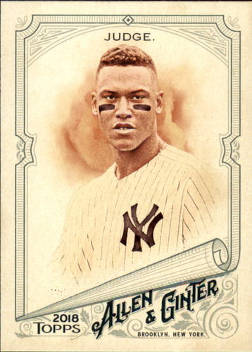 Photo of 2018 Topps Allen and Ginter #7 Aaron Judge
