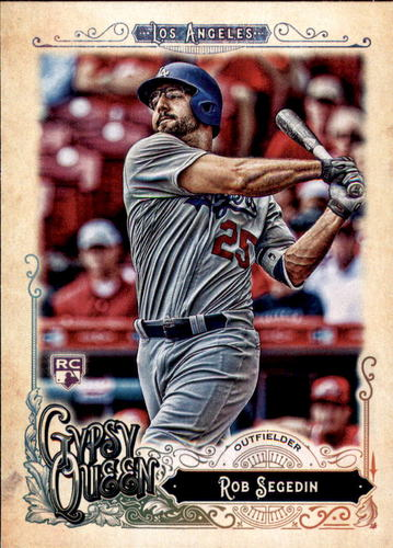 Photo of 2017 Topps Gypsy Queen #221 Rob Segedin RC