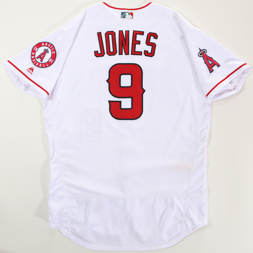 Photo of 2018 Arizona Fall League Game-Used Jersey - Jahmai Jones -Size 46