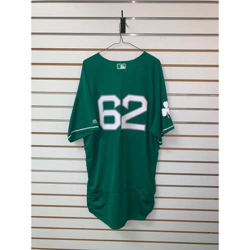 Photo of #62 Team Issued St Patrick's Day Jersey