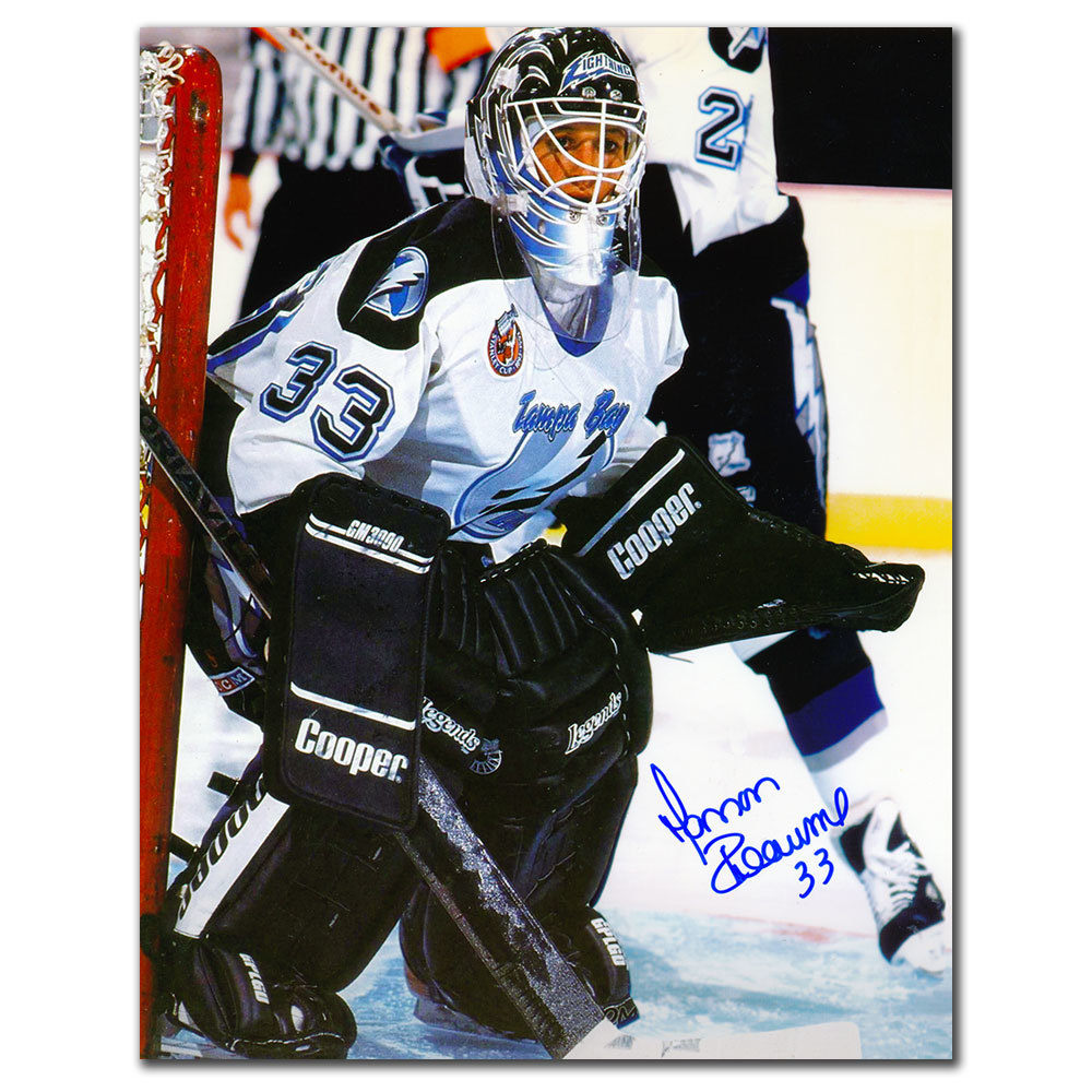 Manon Rheaume Tampa Bay Lightning Autographed 8x10