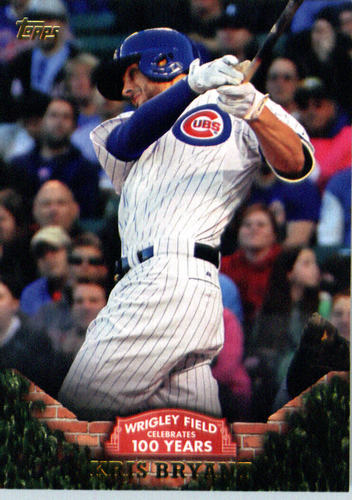 Photo of 2016 Topps 100 Years at Wrigley Field #WRIG1 Kris Bryant