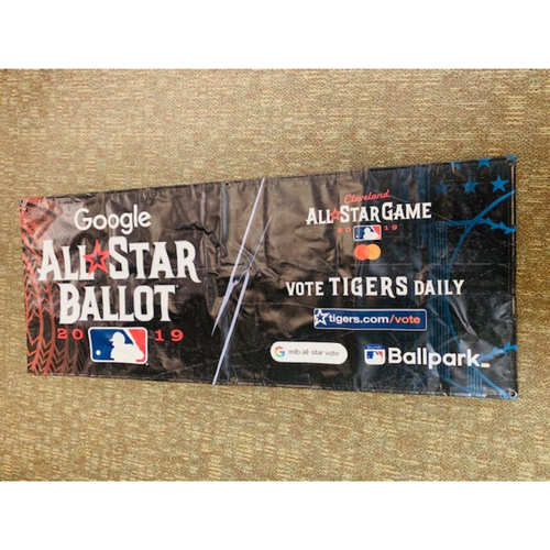 Photo of Team Issued 2019 MLB All Star Banner