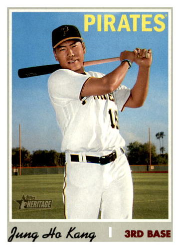 Photo of 2019 Topps Heritage #630 Jung Ho Kang