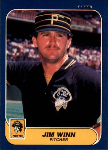 Photo of 1986 Fleer #624 Jim Winn