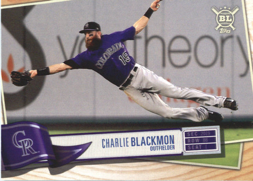 Photo of 2019 Topps Big League #152 Charlie Blackmon