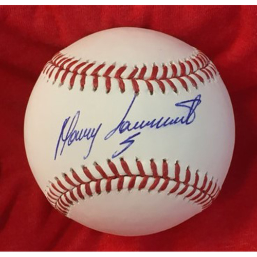 Photo of Manny Sarmiento Autographed Baseball