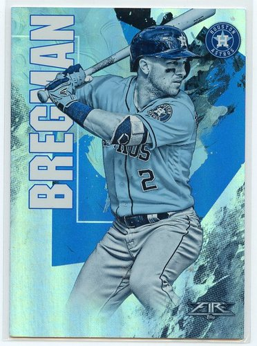 Photo of 2019 Topps Fire Blue #72 Alex Bregman