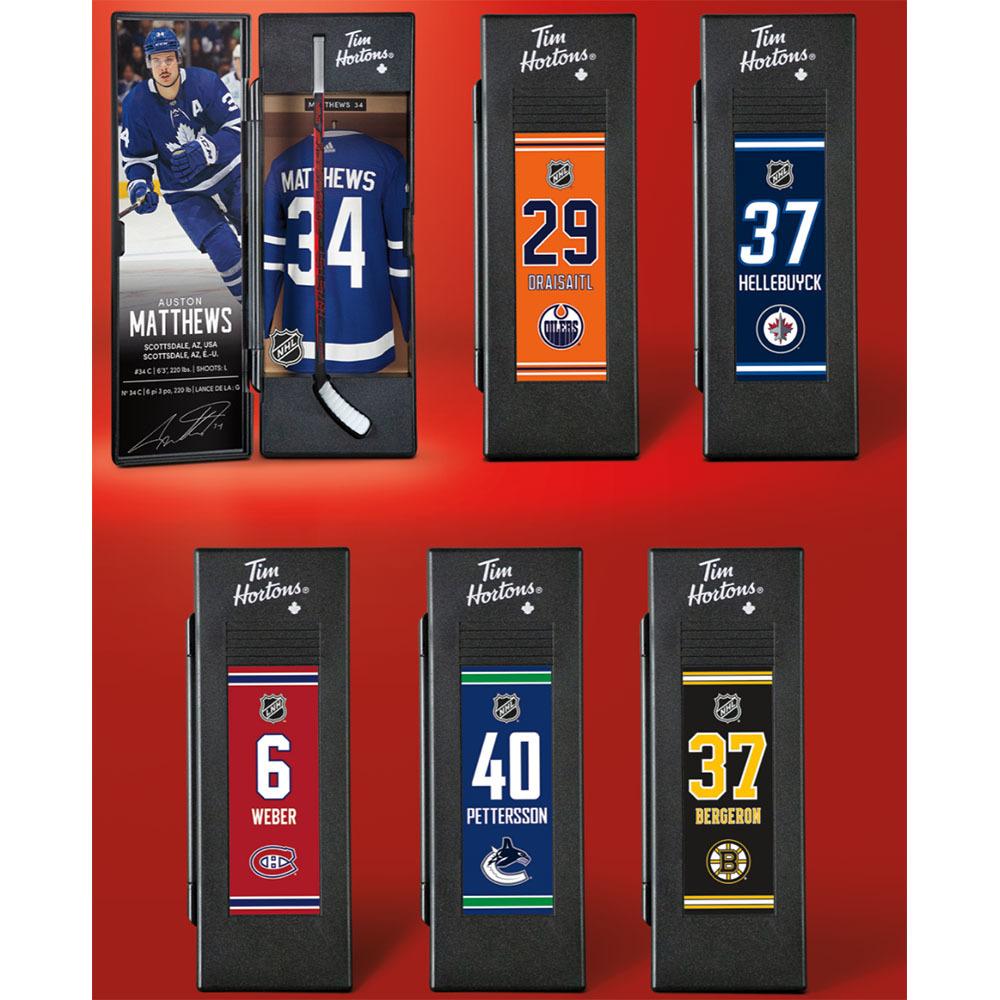 2021 Tim Hortons NHL Mini-Stick Locker Set