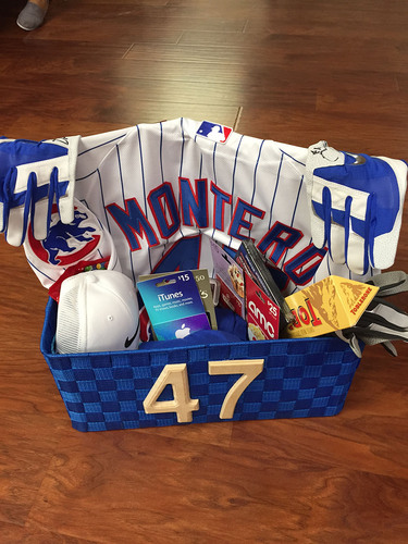 Cubs Charities: Miguel Montero's Favorite Things Basket