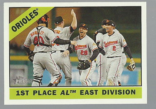 Photo of 2015 Topps Heritage #348 Baltimore Orioles