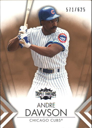Photo of 2012 Topps Triple Threads Sepia #73 Andre Dawson