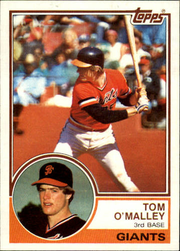Photo of 1983 Topps #663 Tom O'Malley