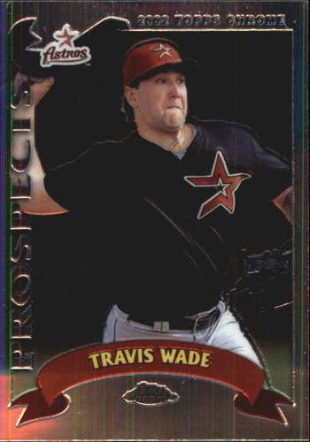 Photo of 2002 Topps Chrome #320 Travis Wade PROS RC