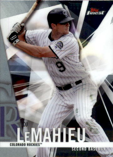 Photo of 2017 Finest #37 D.J. LeMahieu
