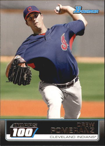 Photo of 2011 Bowman Topps 100 #TP21 Drew Pomeranz -- Red Sox post-season