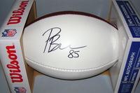 NFL - RAIDERS PHARAOH BROWN SIGNED PANEL BALL