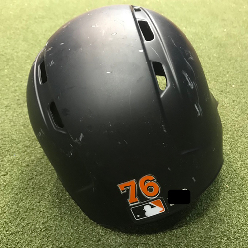 Game-Used Helmet: Dillon Peters