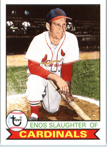 Photo of 2016 Topps Archives #199 Enos Slaughter -- Hall of Fame Class of 1985