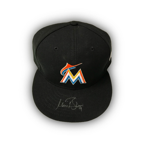 Photo of Autographed Cap: Lewis Brinson