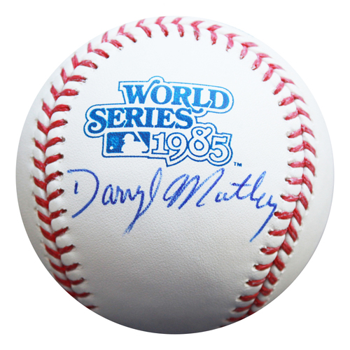 Photo of Autographed 1985 World Series Baseball: Darryl Motley
