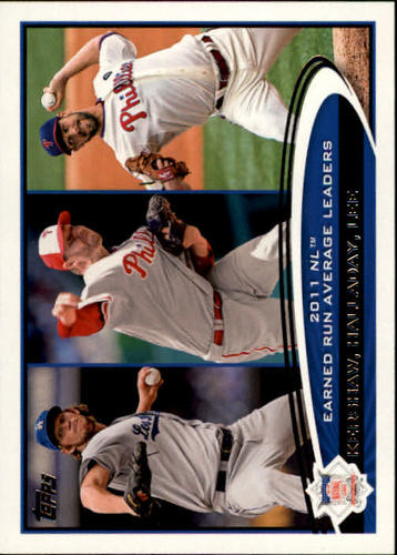 Photo of 2012 Topps #297 Clayton Kershaw/Roy Halladay/Cliff Lee LL