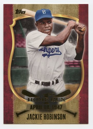 Photo of 2015 Topps Update First Home Run Gold #FHR22 Jackie Robinson