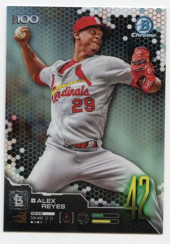 Photo of 2019 Bowman Chrome Scouts Top 100 #BTP42 Alex Reyes