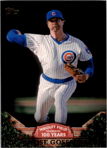 Photo of 2016 Topps 100 Years at Wrigley Field #WRIG9 Goose Gossage