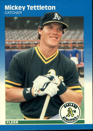 Photo of 1987 Fleer #407 Mickey Tettleton