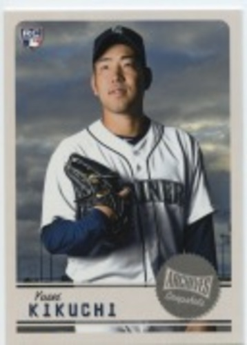 Photo of 2019 Topps Archives Snapshots #ASYK Yusei Kikuchi RC
