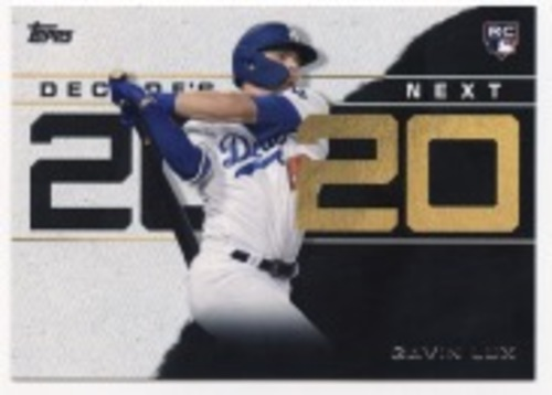 Photo of 2020 Topps Decade's Next #DN10 Gavin Lux