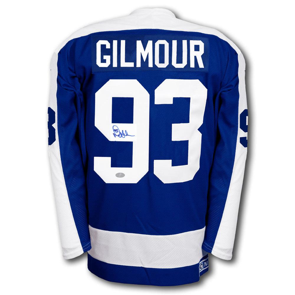 best service d4cf5 f6483 Doug Gilmour Toronto Maple Leafs CAPTAINS CCM Autographed ...