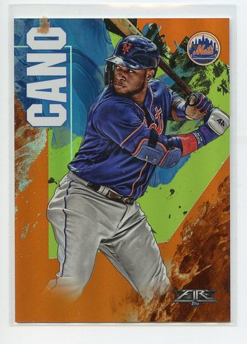 Photo of 2019 Topps Fire Orange #178 Robinson Cano